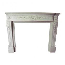 Façade de cheminée en marbre