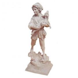 Statue en fonte