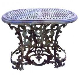 Table en fonte