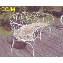 banc de jardin les jardins de valcrisse. Black Bedroom Furniture Sets. Home Design Ideas