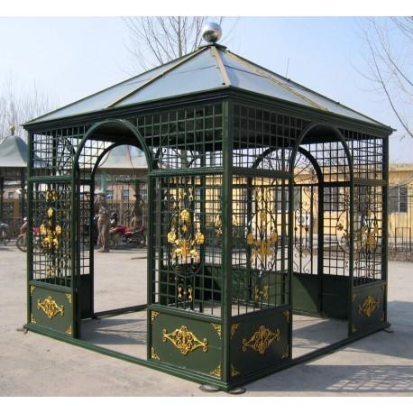 serre de r ception en fer forg les jardins de valcrisse. Black Bedroom Furniture Sets. Home Design Ideas