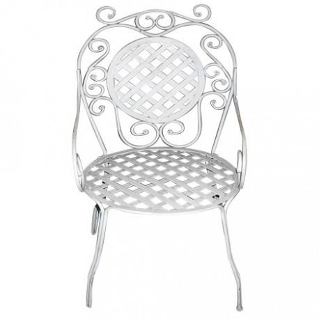 Chaise de jardin en fer forg les jardins de valcrisse - Chaise de jardin en fer forge ...